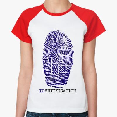 Женская футболка реглан индефикация