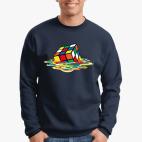 Свитшот Stedman Кубик Рубика | Спидкубинг