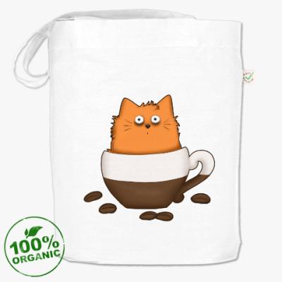 Сумка Кофейный кот