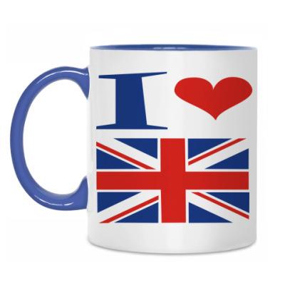 Кружка Я люблю Англию