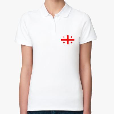 Женская рубашка поло Грузия