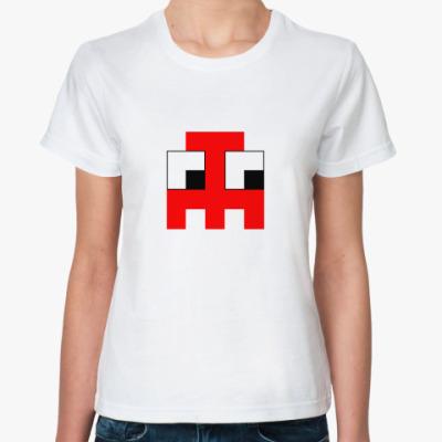 Классическая футболка  «Привидение»