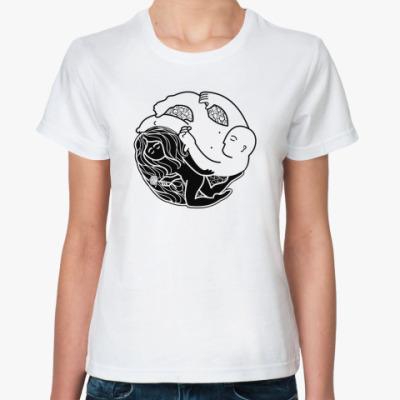 Классическая футболка Инь-Ян