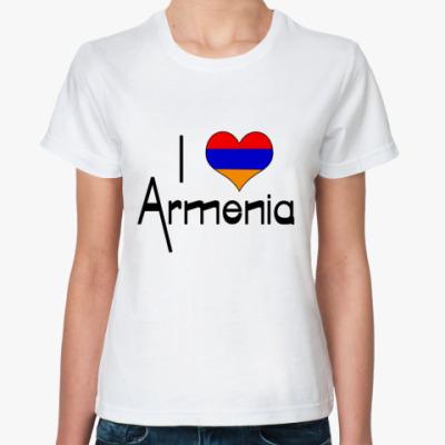 Классическая футболка  Армения