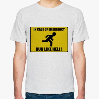 Футболка run