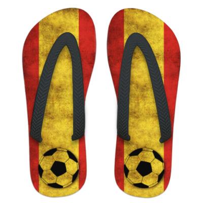 Шлепанцы (сланцы)  Испанский Футбол