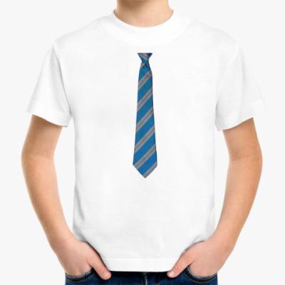 Детская футболка  Галстук