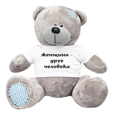 Плюшевый мишка Тедди Женщина - друг человека