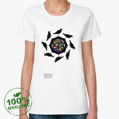 Женская футболка из органик-хлопка Birds'n'Gem