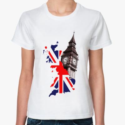 Классическая футболка Британия