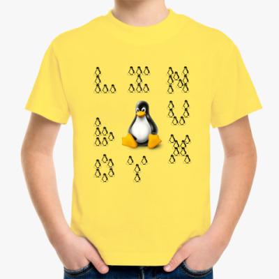 Детская футболка Linux