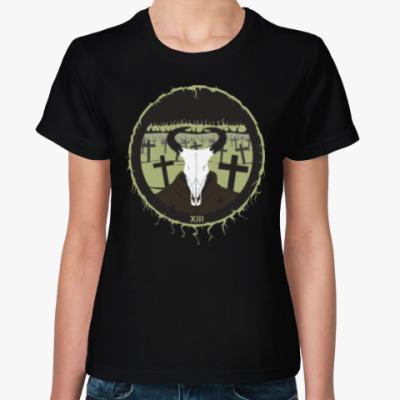 Женская футболка 13 Чёртова дюжина