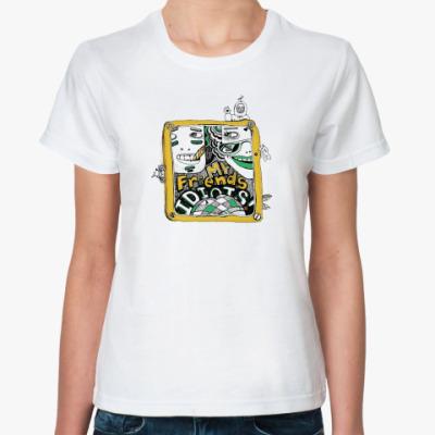 Классическая футболка MyFriendsIdiots