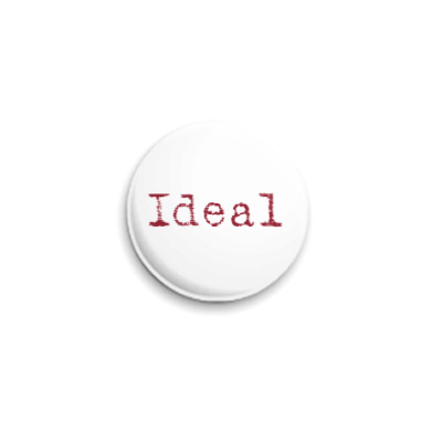 Значок 25мм Ideal