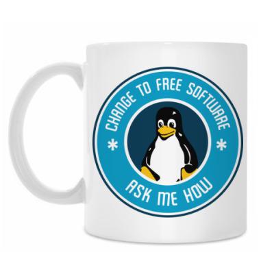 Кружка Линуксоид
