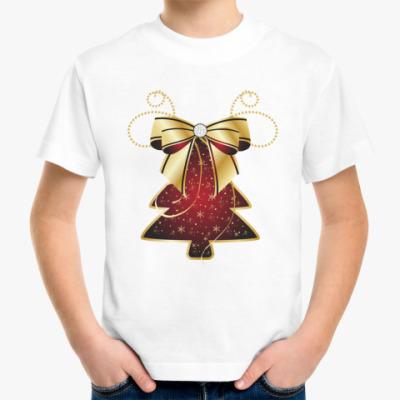 Детская футболка Новогодняя елочка