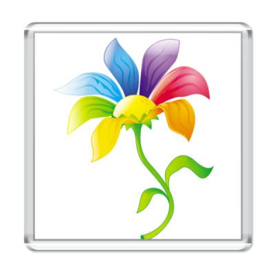 Магнит Цветик-семицветик