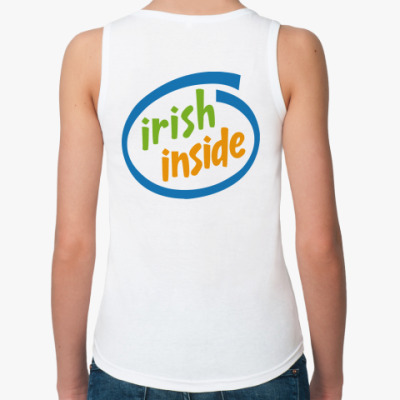 Женская майка Irish Inside