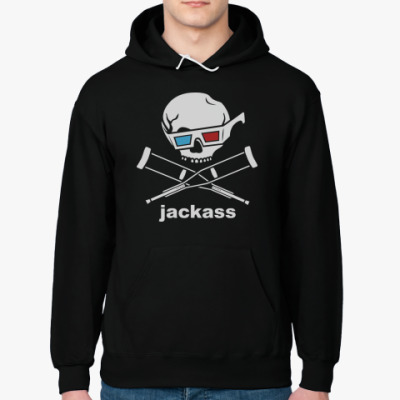 Толстовка худи Jackass 3d