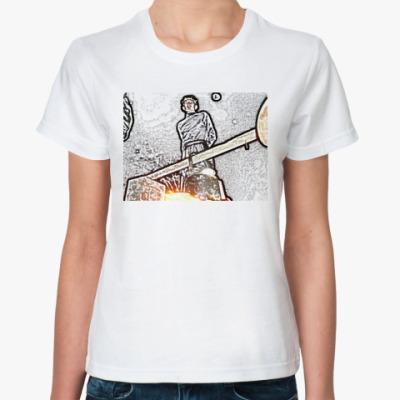 Классическая футболка 'Чайnick'