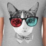 Кот в очках