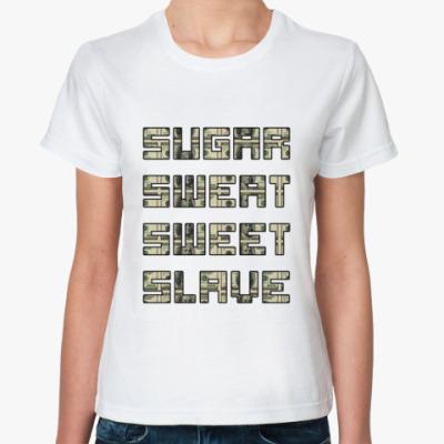 Классическая футболка Жажда