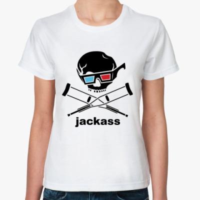 Классическая футболка  Jackass 3d