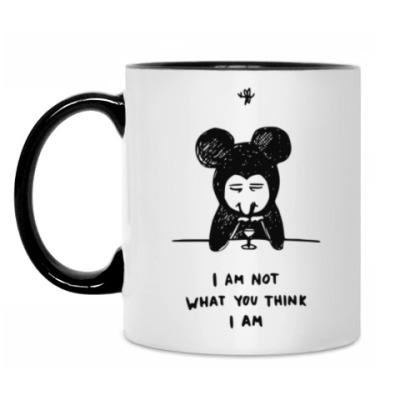 Кружка Not a Mickey M