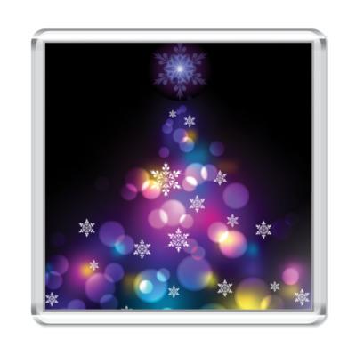 Магнит Новогодняя елка