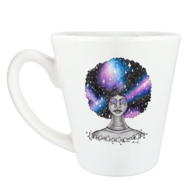 Чашка Латте Космоафро