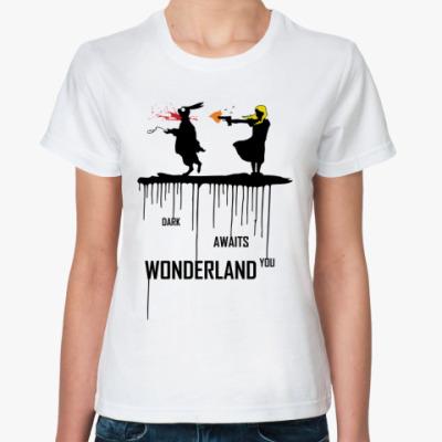 Классическая футболка Dark Wonderland