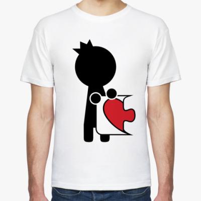 Футболка Парная футболка для влюблённых
