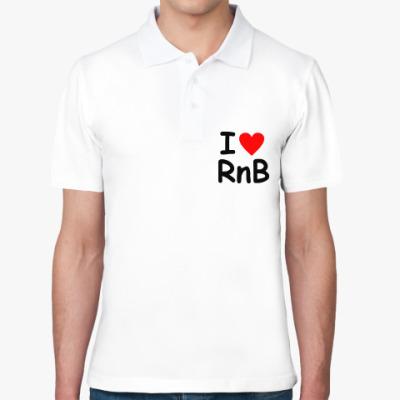 Рубашка поло I love Rnb