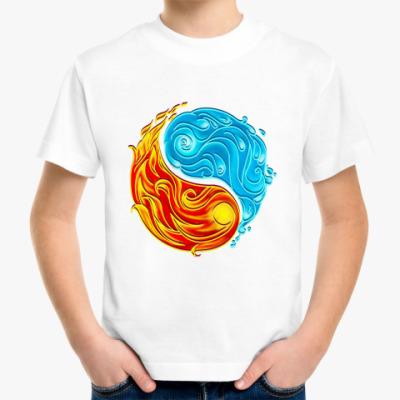 Детская футболка Инь и ян