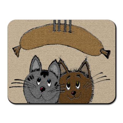 Коврик для мыши 'С сосиской'
