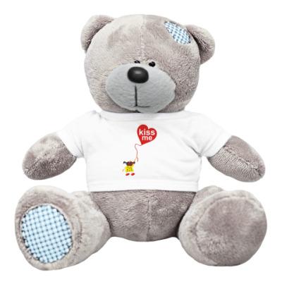 Плюшевый мишка Тедди Kiss me