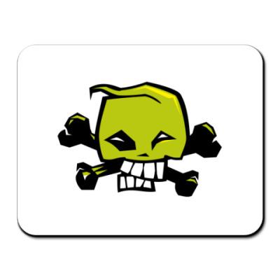 Коврик для мыши  skull2