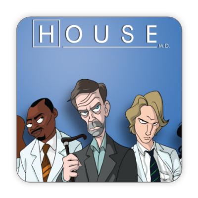 Костер (подставка под кружку) HOUSE