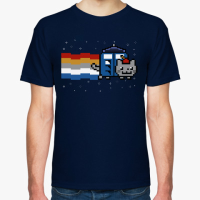 Футболка Доктор Нян (Nyan Cat)