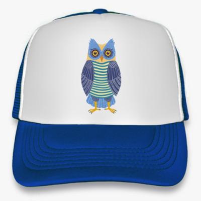 Кепка-тракер Синяя сова