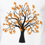 Дерево с отпечатками ног