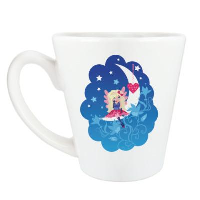 Чашка Латте Ангелочек