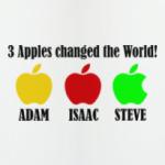 3 яблока изменили мир