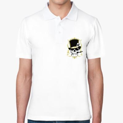 Рубашка поло Poker череп