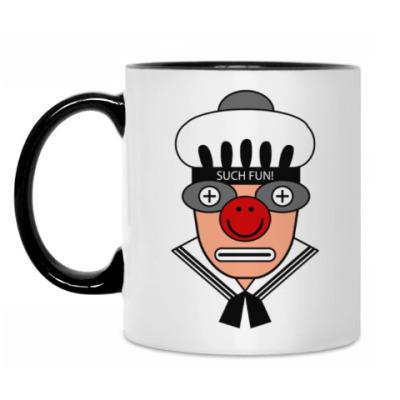 Кружка 'Клоун'