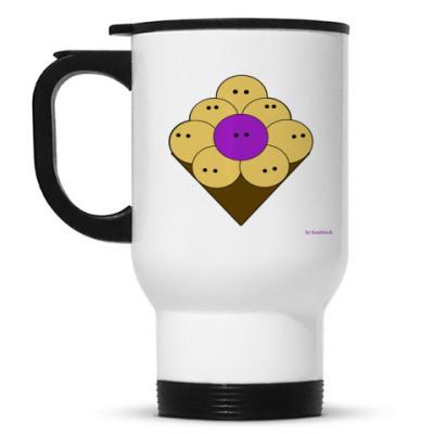 Кружка-термос Purple people