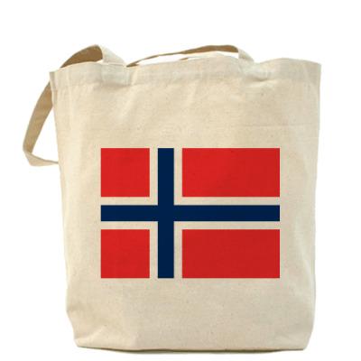 Сумка  Флаг Норвегия