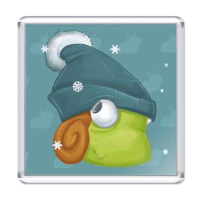 Магнит  зима!!!!