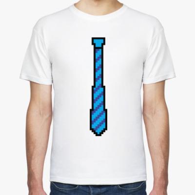 Футболка 8-битный галстук