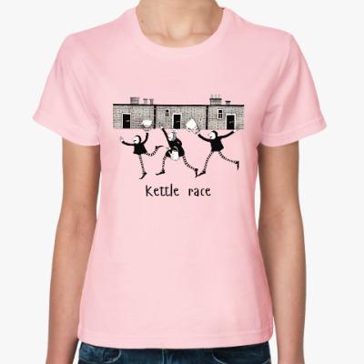 Женская футболка Kettle Race